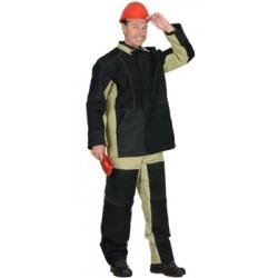 костюм сварщика комбинированный брезент пл 480гр спилок 2.3 м