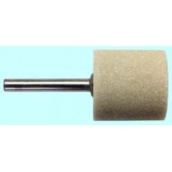 Головка шлифовальная цилиндрическая 10х13х3, электрокорунд белый, твердость Т